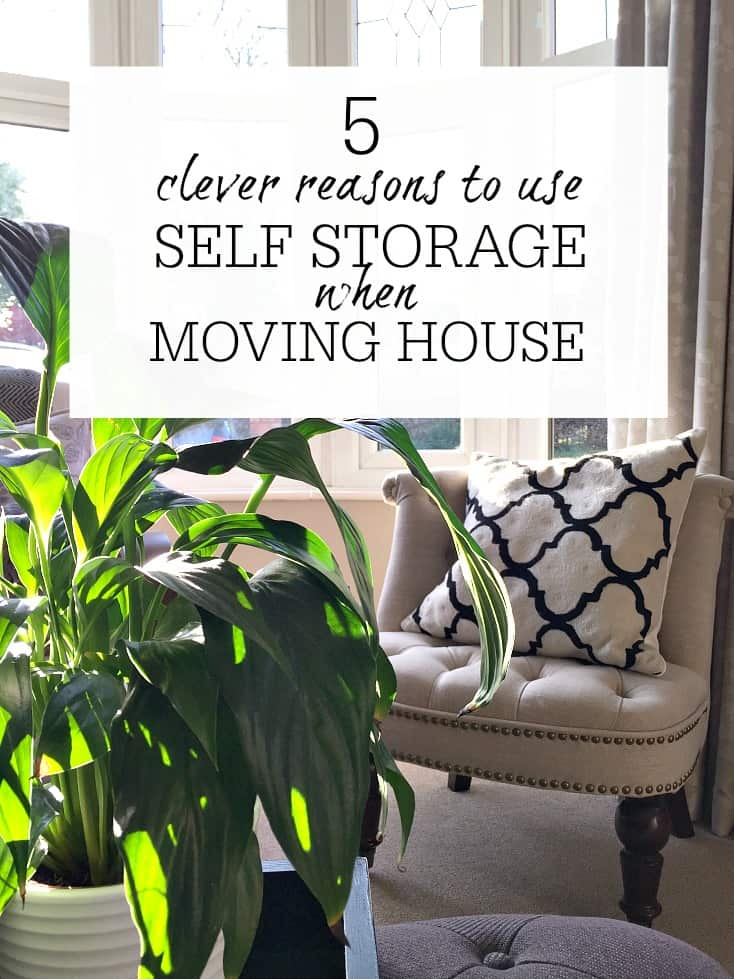 Easy ways that self storage can be a life saver when it comes to moving house. Moving house tips and inspiration to make life easier
