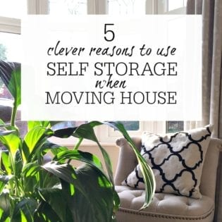 Self storage Moving House