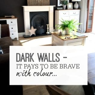 Why it pays to be brave with colour when you paint walls dark in your home