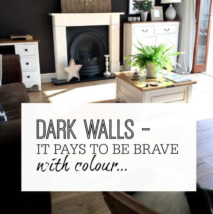 DARK WALLS – IT PAYS TO BE BRAVE WITH COLOUR..