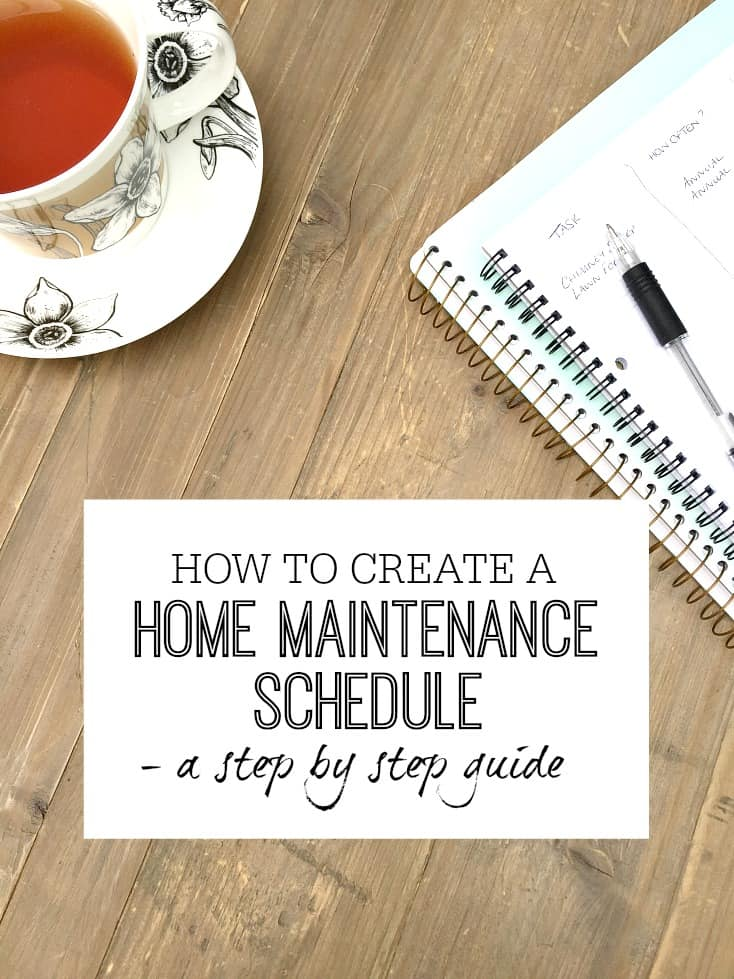How to create a home maintenance schedule step by step guide for Steps to start building a house
