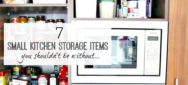 Small kitchen storage items that will transform your kitchen cupboards for the better!