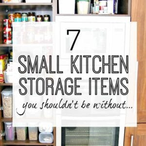 Small kitchen storage products