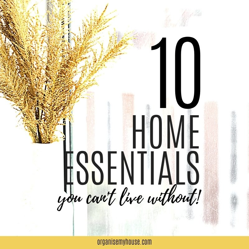 10 Essentials Every Home Needs To Run Smoothly