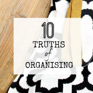 10 truths of organising