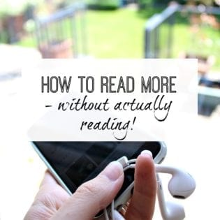 How to read more - audible review
