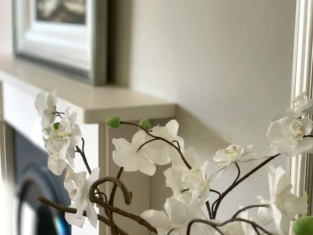 Artificial Orchid plant from Wayfair