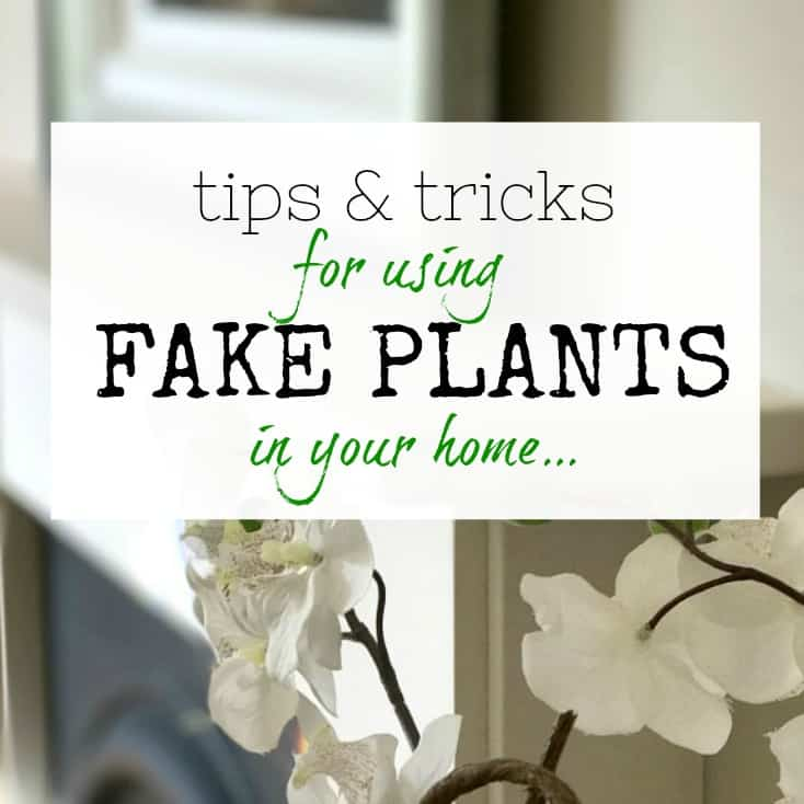 Tips and tricks for using fake plants in your home