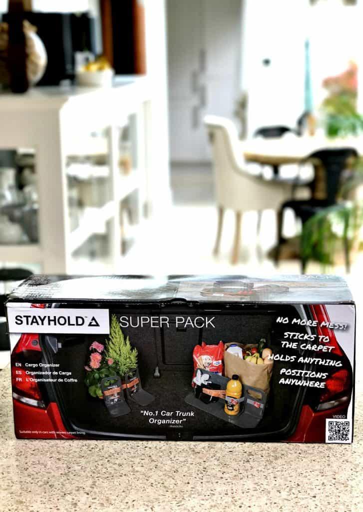 STAYHOLD™ boot organiser in box