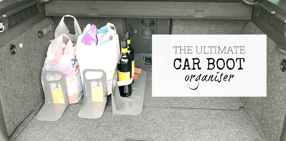 The ultimate car boot organiser