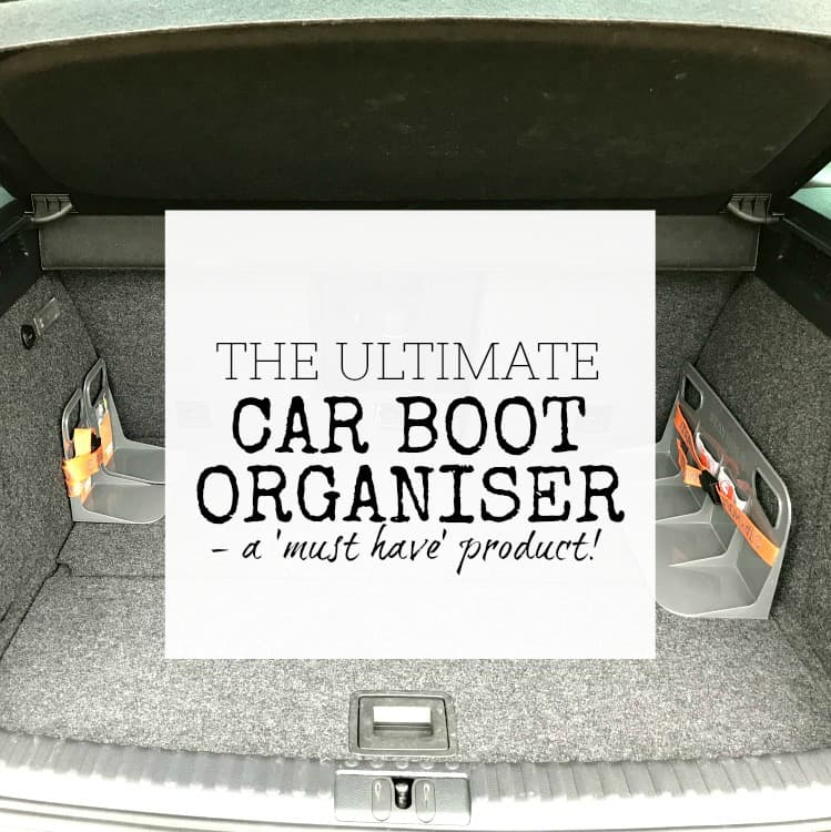 The ultimate car boot organiser