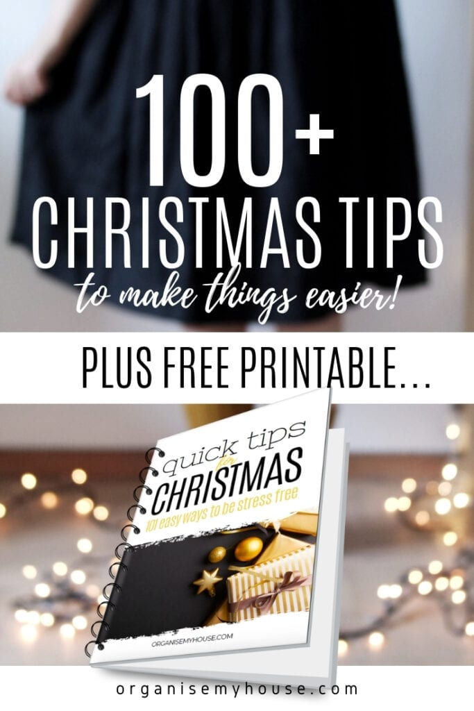 101 Christmas Tips for a stress free Holidays!