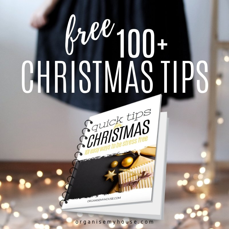 101 Christmas Tips that will help ease overwhelm this Christmas