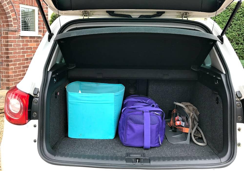 Car boot organised