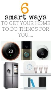 Create a SMART HOME with these amazing products - get your home doing the work for you and save money and time. Technology to help around the house