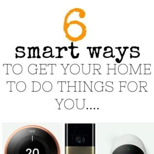 Smart home - using technology to help around the house