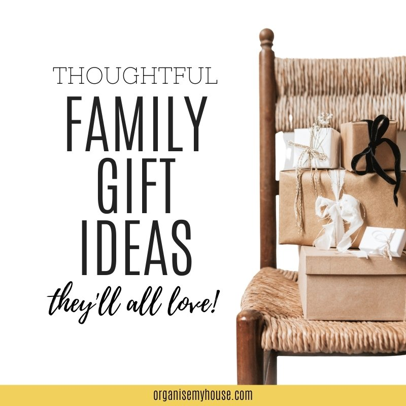 Thoughtful family gift ideas they'll all love