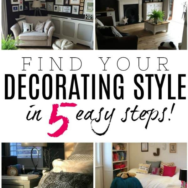 FIND YOUR DECORATING STYLE – 5 STEPS THAT MAKE INTERIOR DESIGN CHOICES EASIER!