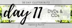 Day 11 of the 30 day declutter challenge