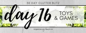 Day 16 of the 30 day declutter challenge