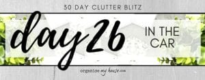 Day 26 of the 30 day declutter challenge