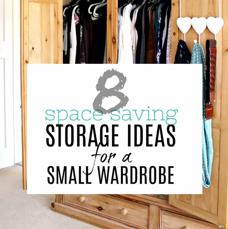 8 amazing space saving storage ideas for a small wardrobe