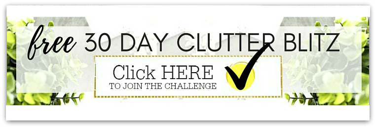 Clutter 30 day challenge