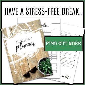 Holiday Planner Advert