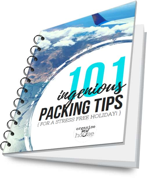 Ebook cover for 101 packing tips