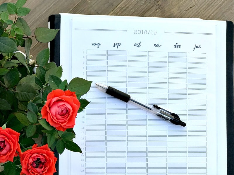 Academic Year Planner 2018-19 - Totally Free Printable to ...