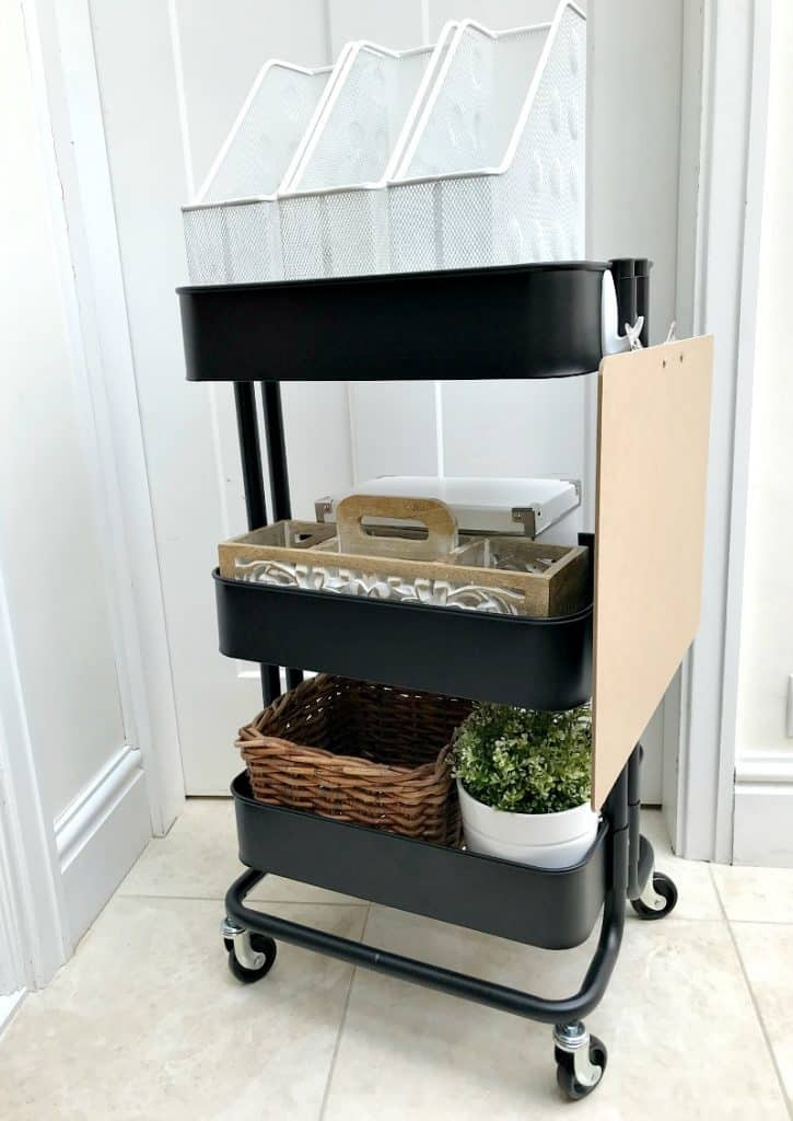 Trolley with storage added