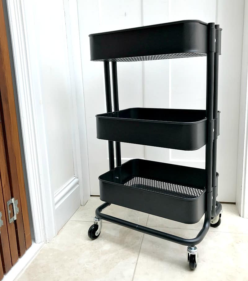 Ikea Raskog Trolley in Black