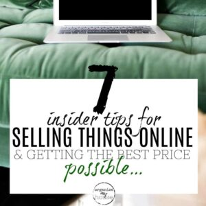 7 tips for selling things online to make money