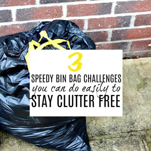 3 SPEEDY CHALLENGES YOU CAN EASILY DO TO STAY CLUTTER FREE AT HOME