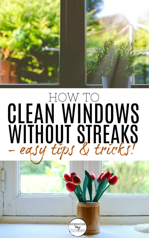 How to Clean Windows - 2 Open windows with flowers and the sun coming in
