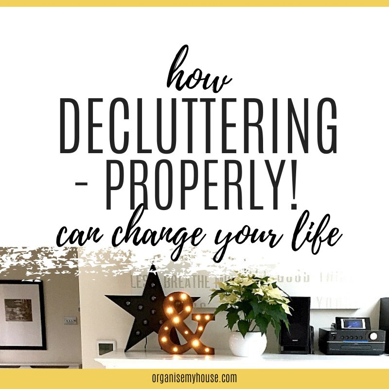How decluttering can change your life