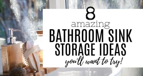 astounding bathroom under sink storage ideas   8 Amazing Under Bathroom Sink Storage Ideas You'll Want to Try