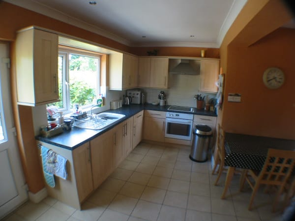 Kitchen before extension