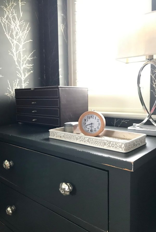Jewellery Box on Chest Of Drawers