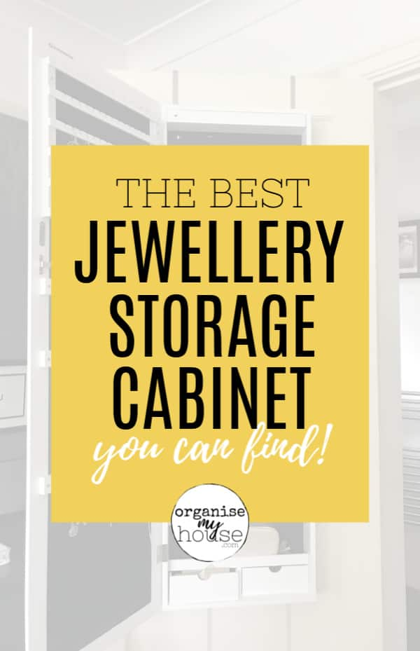 The Best Jewellery Storage Cabinet