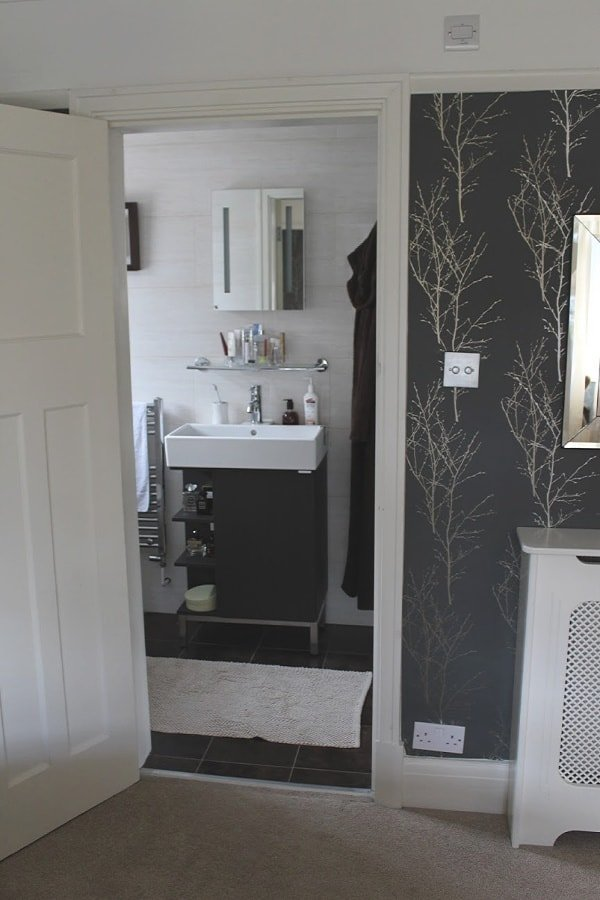 Ensuite with Door open