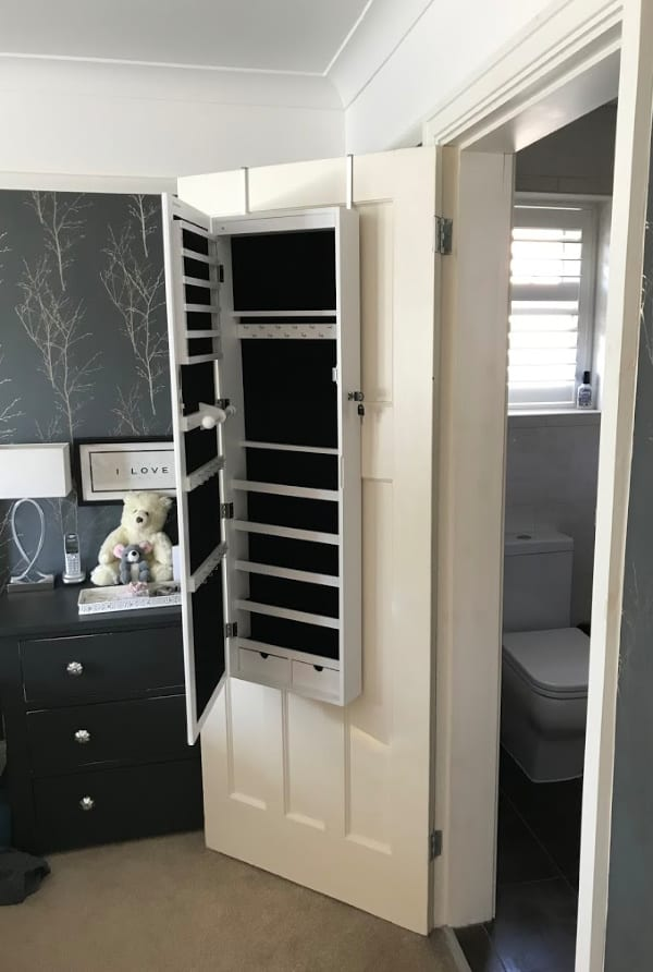 Jewellery Storage Cabinet on Door