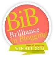 BIBs Award Winner - Pinterest Award