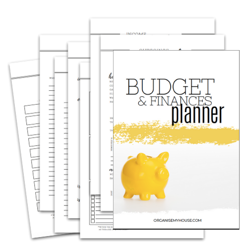 Budget Planner - Part of the Home File