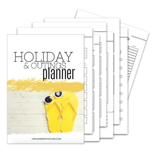 Holiday Planner - Part of the Home File
