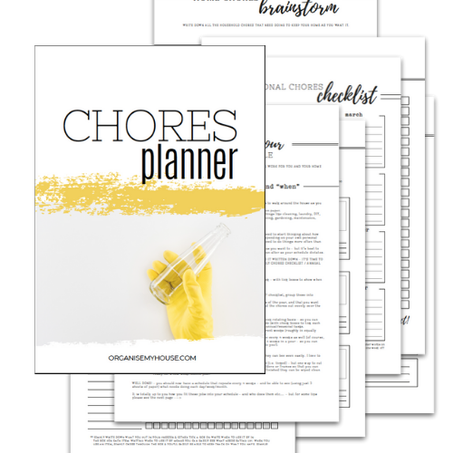 Chores Planner - Part of the Home File