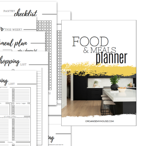 Food and Meals Planner - Part of the Home File