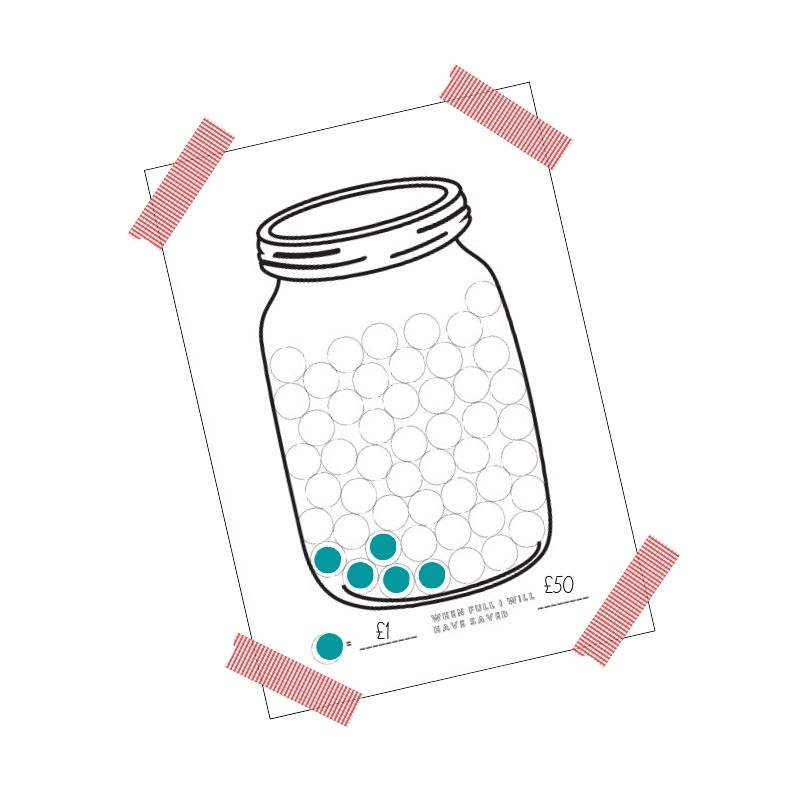 Kids File - Savings Jar