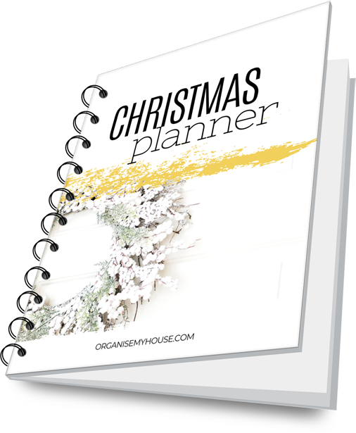 Christmas Planner from Organise My House