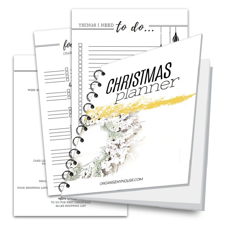Christmas Planner with pages